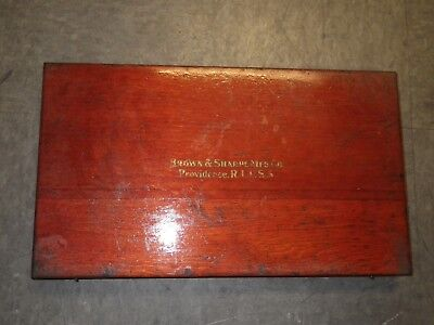 Vintage Brown Sharpe Micrometer Set 10 To 11 Inch Made In Usa