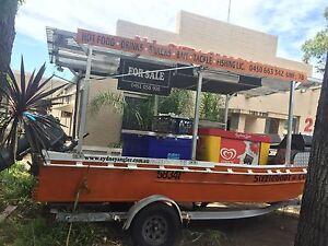 Boat mobile food vending,icecream,drinks Blakehurst Kogarah Area Preview