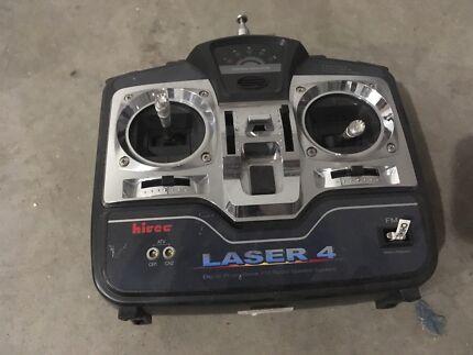 Hi Tec Lazer 4 FM RC plane Transmiter