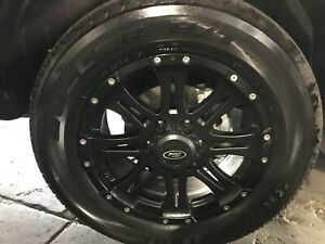 Ford Ranger Wildtrak X wheels and Tyres new px2 px3