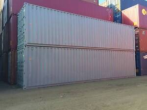 40ft High Cubes Fully Painted ex Brisbane Hemmant Brisbane South East Preview