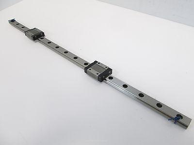Iko Lwl12b Linear Rail With 2 Carriages 16-58 L X 12mm W X 8mm H