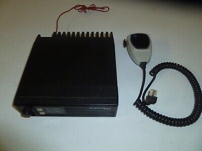 Motorola Radius 146-174 Mhz Vhf 45 Watt Two Way Radio With Mic D43lra73a5bk