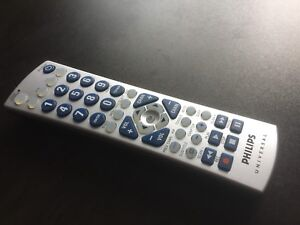 Philips TV VCR DVD SAT CABLE Universal Remote Controller