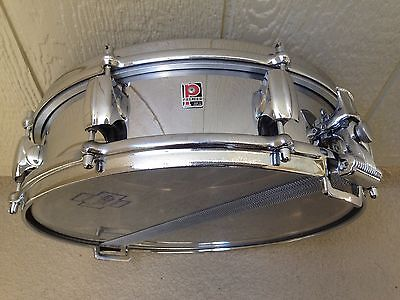 VINTAGE 60'S PREMIER 4X14 CHROME OVER BRASS ROYAL ACE PICCOLO SNARE DRUM