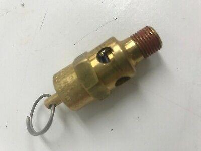 Compressor Pop Off Safety Relief Valve 18 Npt 0g8703.5c 100 Psi 9.5 Scfm