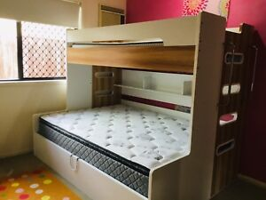 Double Single Bunk Bed Gas Lift Storage Call Now Only 500 Beds