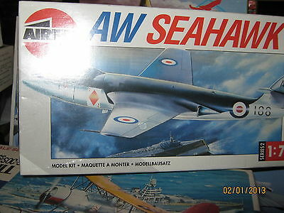 Airfix French AW Seahawk Fighter Plane-SCALE 1/72