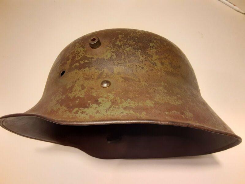 Original Austrian Kuk WW1 WWI M-1917 Helmet Shell  66 cm