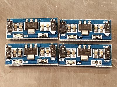 4 X Dcdc 4.5v-7v To 3.3v Ams1117 Volt Regulator N24 Power Supply Module Us Ship