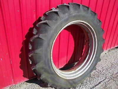 13.6 X 38 Tire 90 Tread Ih Farmall Super M Smta Mta Sm Sh Tractor Rim Jd A B G