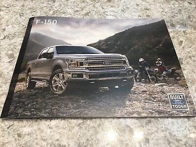 2018 FORD F-150 page 60-page Original Sales Brochure