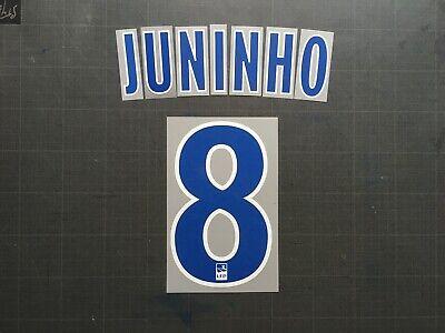 JUNINHO 8 NAMESET LFP LIGUE 1 MONBLASON TRANSFERT (BLUE/WHITE)