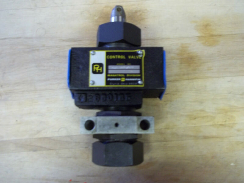 UNUSED PARKER HANNIFIN  DMVBF 1600SNCR10 HYDRAULIC CONTROL VALVE