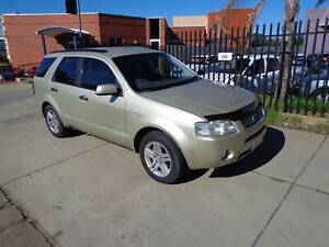 FORD TERRITORY 2006 GHIA RWD,7SEATER,AUTO,LEATHER,AIRBAGS,ALLOYS,REGO Beverley Charles Sturt Area Preview