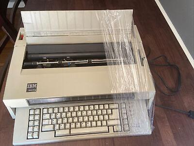 Working Ibm Wheelwriter 6 Electric Typewriter Type 674x Vintage 1986