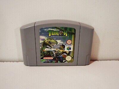 Turok Dinosaur Hunter Nintendo 64 N64 Pal Eur Loose