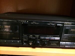 Pioneer Dual Cassette Player