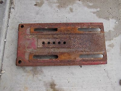 Farmall 450 400 350 300 Tractor Original Ih Ihc Battery Box Seat Base Lid