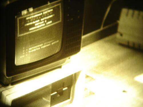 16mm Soviete Education Computer CNC Robot Film B/W Movie Industry