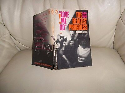 THE BEATLES LOVE ME DO THE BEATLES PROGRESS 1964 FIRST ISSUE AWESOME CONDITION