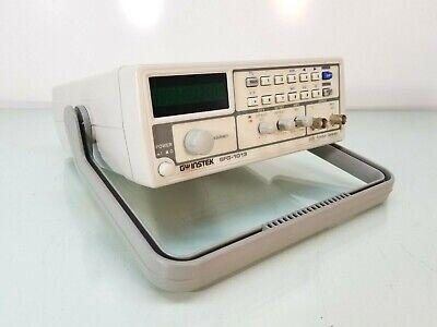 Gw Instek Sfg-1013 Dds Function Generator W Voltage 6 Digit Led Display