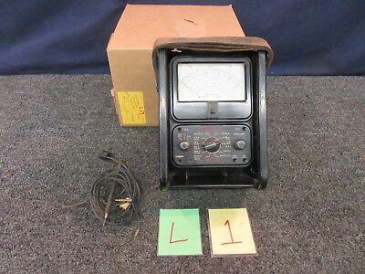 Simpson 260 Analog Multimeter Volt Test Ohms 1000 A.c. 20000 D.c. Electrical