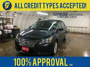 2014 Nissan Sentra S*CVT*PHONE CONNECT*KEYLESS ENTRY*POWER WINDO