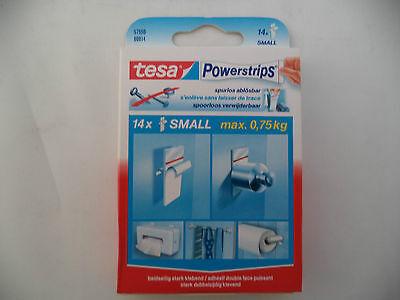 Tesa Powerstrips, 14er Small, beidseitig stark klebend, 57550-00014 NEU & OVP