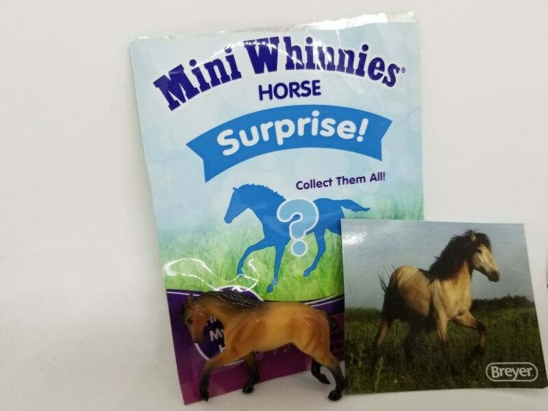 BREYER Mini Whinnies Series 4 Walmart Buckskin Denver