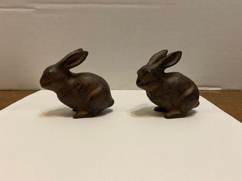 Metal Decorative Rabbits