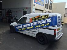 MOBILE SAFETY CERTIFICATES ONE STOP AUTOMOTIVE!!! $88 Broadbeach Waters Gold Coast City Preview
