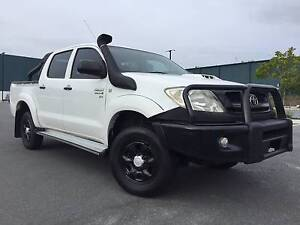 2008 Toyota Hilux Ute turbo diesel 4x4 great value. Arundel Gold Coast City Preview
