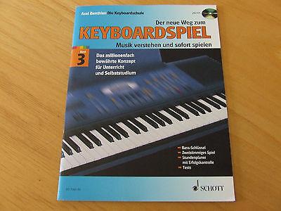 Der neue Weg zum Keyboardspiel Band 3 Axel Benthin  mit CD