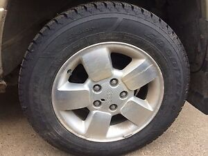 Winter tires on jeep rims 235/65/17