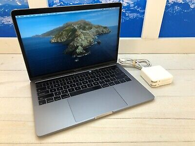 "Apple MacBook Pro Touch Bar 2017 13"" Laptop 512GB 8GB RAM Space Gray AppleCare+"
