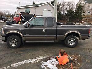 2005   F350 srw plow truck