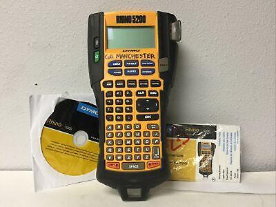 Dymo Rhino 5200 Industrial Label Printer - Not Working - Read Description