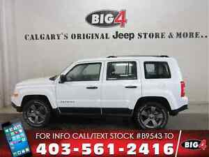 2017 Jeep Patriot High Altitude, Leather, Sunroof, PW/PL/PM