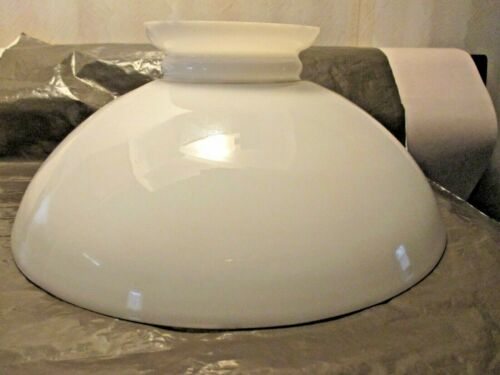 "VINTAGE~~~10"" MILK GLASS SHADE"
