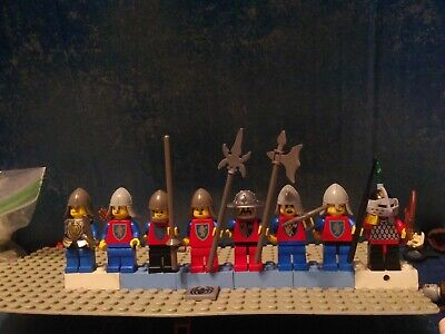Lego vintage knights lot#1(8)