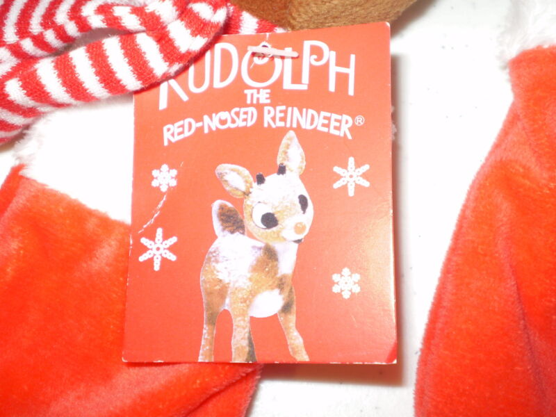 3 Rudolph Red Nose Rei...