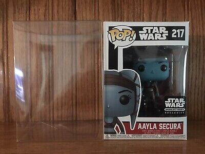 Funko Pop! Star Wars Smuggler's Bounty AAYLA SECURA #217 With Protector