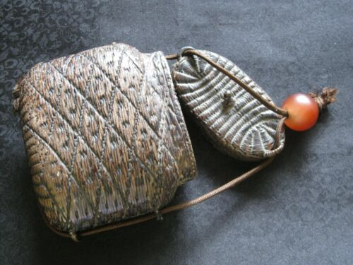 Japanese antique Inro Tobacco case