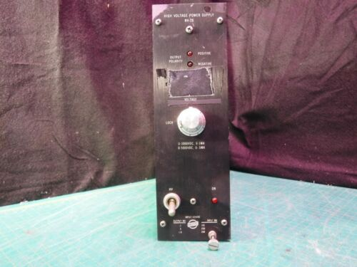 High Voltage Power Supply NV-28 Harshaw