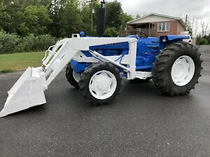 tracteur ford model 6600 4x4 loader