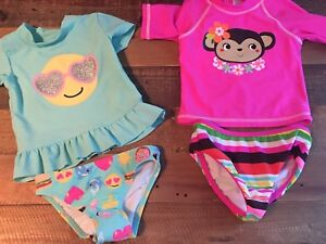 Two-piece swimsuits
