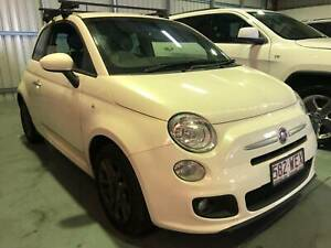 2016 Fiat 500 S Manual Hatchback. Service Books. Leather. Eagle Farm Brisbane North East Preview