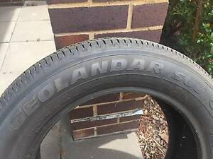 Yokohama Geolander SUV Tyre for sale Bruce Belconnen Area Preview