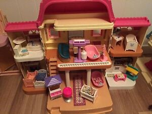 Barbie houses  Barbie airplane